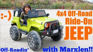 power wheels jeep white kids u0027 toy channel off road power wheels 4x4 jeep wrangler ride