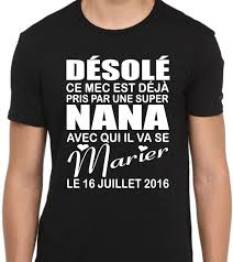 cadeau de mariage personnalis shirt personnalisé pour mariage avec date t shirt futur marié