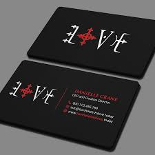 Business Card For Ceo Create An Eye Catching Business Card For Turn Into Love By