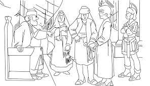imagenes de jesus ante pilato dibujos de semana santa para colorear jesús ante pilato para