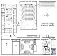 center for the arts virtual tour belhaven university