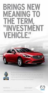 mazda account recent projects tom mescall