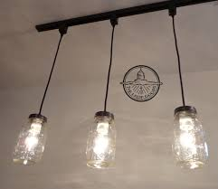 Farmhouse Lighting Pendant Jar Track Lighting Pendant New Quart Chandelier