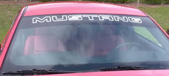 mustang windshield decal 2010 2014 mustang window decal free shipping 100