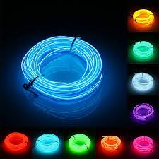 3 meters 2 3mm led el wire neon lights glow light