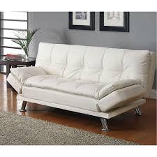 coaster furniture 300291 contemporary futon sleeper sofa bed in