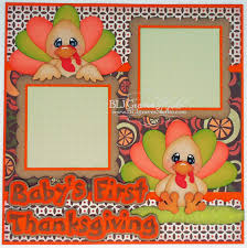 blj studio baby s thanksgiving single page layout