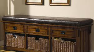 Rustic Wooden Bench Bench Beautiful Rustic Wooden 3 Drawer Storage Bench Eye