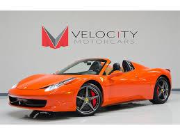 Ferrari 458 Colors - 2012 ferrari 458 spider for sale in nashville tn stock f188743p