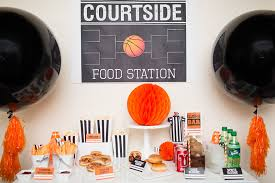 basketball party ideas basketball party ideas and tournament party recipes free