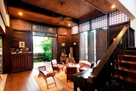 Modern Kampung  Traditional House Malaysia Timehonored - Thai style interior design