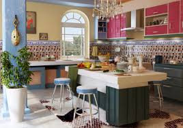 kitchen view mediterranean kitchen design home design image