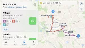 Las Vegas Transit Map by Apple Maps Transit Directions Start Rolling Out In Madrid Mac Rumors