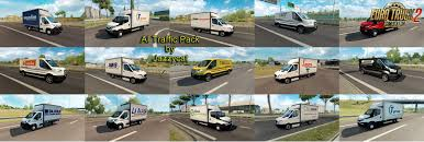 skin pack new year 2017 for iveco hiway and volvo 2012 2013 ai traffic pack v6 4 by jazzycat download ets 2 mods truck
