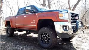 lifted gmc 2015 2015 gmc sierra 2500 lifted southern comfort black widow youtube