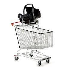 siège bébé caddie cadergo standard 215l support siege auto caddie