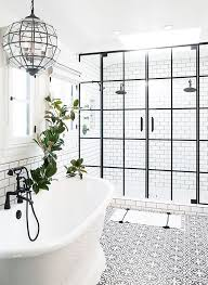 White On White Bathroom by Black And White Bathroom Contrast Study Cococozy