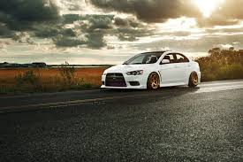 mitsubishi evo white mitsubishi lancer evolution x jdm style beautiful automobile