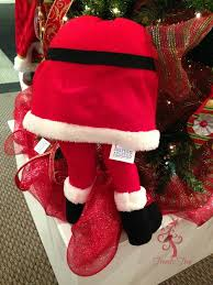 small santa with legs decoration