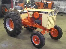 custom restored case 195 hydra static drive garden tractor