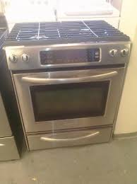 30 Stainless Steel Gas Cooktop 9 Kitchenaid Kgss907sss 30 U2033 Convection Slide In Gas Range