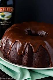 irish chocolate coffee bundt cake recipe baked by an introvert