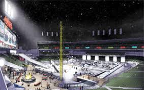 let it snow indians winter theme park ups ballpark revenue