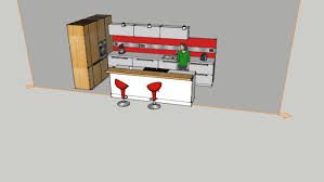 cuisine moderne avec ilot central cuisine moderne avec ilot central 3d warehouse