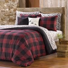 Plaid Bed Set Northcrest Buffalo Plaid Comforter Set Shopko