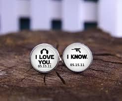 personalized wedding cufflinks customize wedding cufflinks i you cufflink i cufflinks