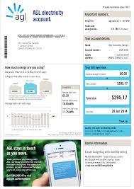 your energy bill explained residential agl