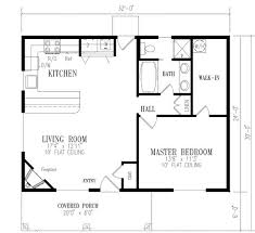 1 bedroom home floor plans 1 bedroom cottage house plans homes floor plans