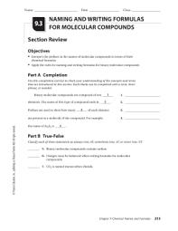 ionic vs molecular compounds name period unit 4 u2013 hw 1 worksheet