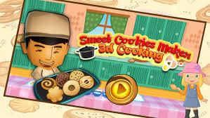 jeux de cuisine 3d cookies sucrés maker 3d de jeu de cuisine tasty biscuit cuisson