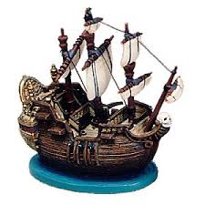 wdcc pan captain hook ship ornament jolly roger ornament