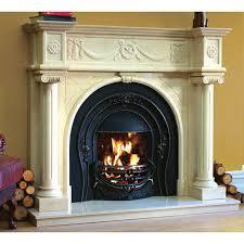 fireplace in spanish binhminh decoration