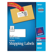 avery shipping labels laser ink jet white 100 labels rite aid