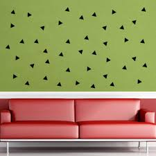 triangle wall stickers online triangle wall stickers for sale 154 pcs black triangle wall art mural decor sticker living room bedroom background wall applique fashion home decal wallpaper