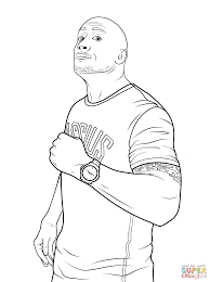 wwe coloring pages eson me