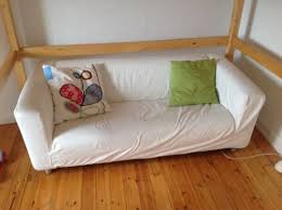 2er sofa weiãÿ klippan 2er sofa weiß bezug eierschalen weiß in baden württemberg