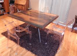 Wood Table Base by How To Build A Reclaimed Wood Table And Steel Base Online Metals