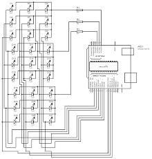 diy 3x3x3 led cube using arduino uno circuit diagram wiring
