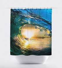 ocean wave curtain bed and bath shower curtains bathroom ocean wave curtain bed and bath shower curtains bathroom curtain home decor