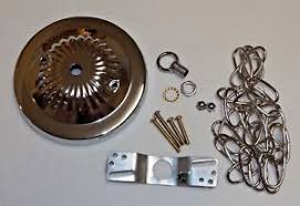 3 light canopy kit 5 nickel plated ceiling canopy kit with 3 chain for light fixtures