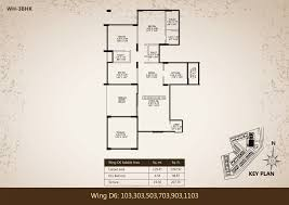 high rise floor plans westernhills phase i 3 3 5 and 4 bhk baner sus road pari towers