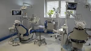 Hospital Armchairs Blood Donation Room In Hospital With Armchairs And Equipment Stock