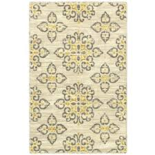 Area Rugs Shaw Yellow Gray Area Rug Visionexchange Co