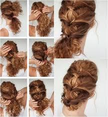 Frisuren Zum Selber Machen Mit Anleitung Und Bild Mittellange Haare by 40 Frisuren Für Naturlocken Zum Selbermachen Mit Anleitung