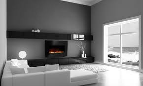 Wall Mounted Fireplaces Electric by Electric Curved Glass Fireplace Groupon Goods
