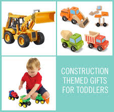 construction themed gifts for toddlers